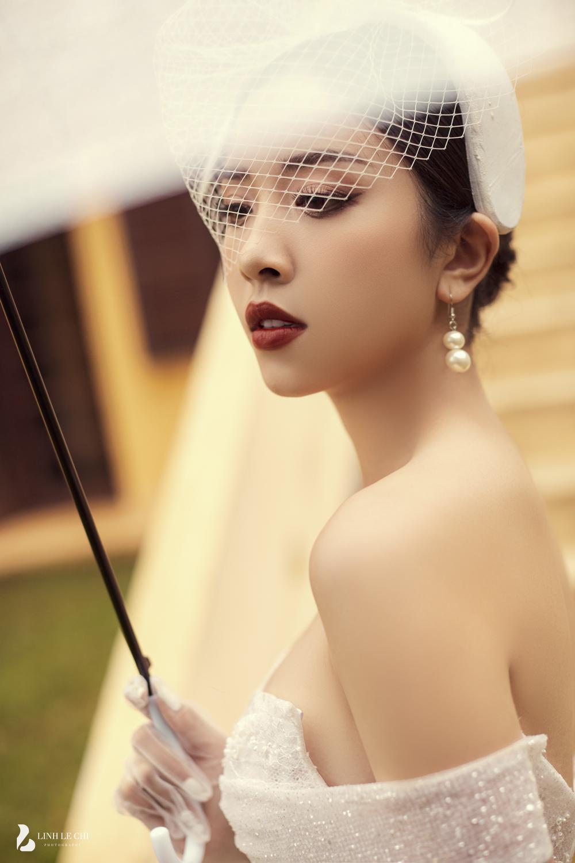 Á Hậu Thúy An hé lộ ảnh cưới lung linh tại Đà Lạt: Cô dâu nhan sắc rạng ngời, chú rể điển trai phong độ Ảnh 20
