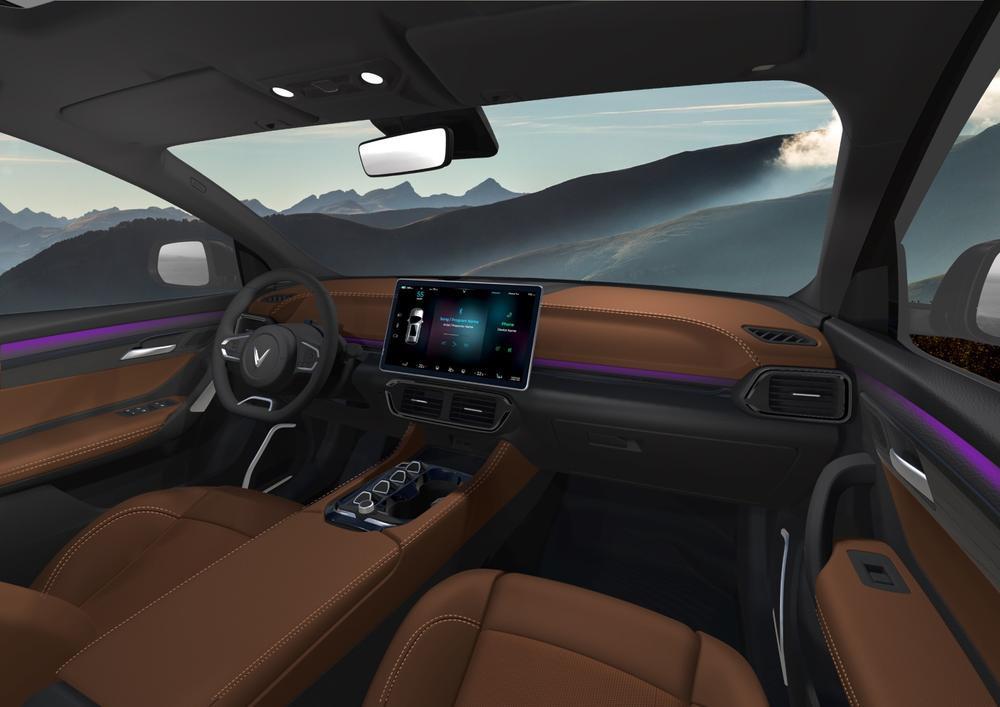 VinFast bất ngờ ra mắt 3 dòng ô tô điện tự lái: Trí tuệ nhân tạo, nhiều tính năng an toàn Ảnh 7