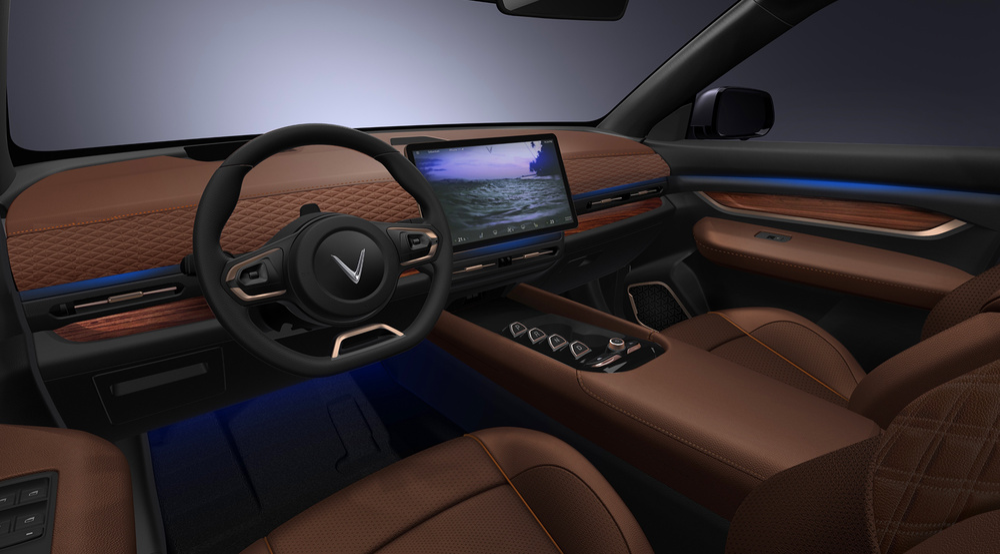 VinFast bất ngờ ra mắt 3 dòng ô tô điện tự lái: Trí tuệ nhân tạo, nhiều tính năng an toàn Ảnh 12