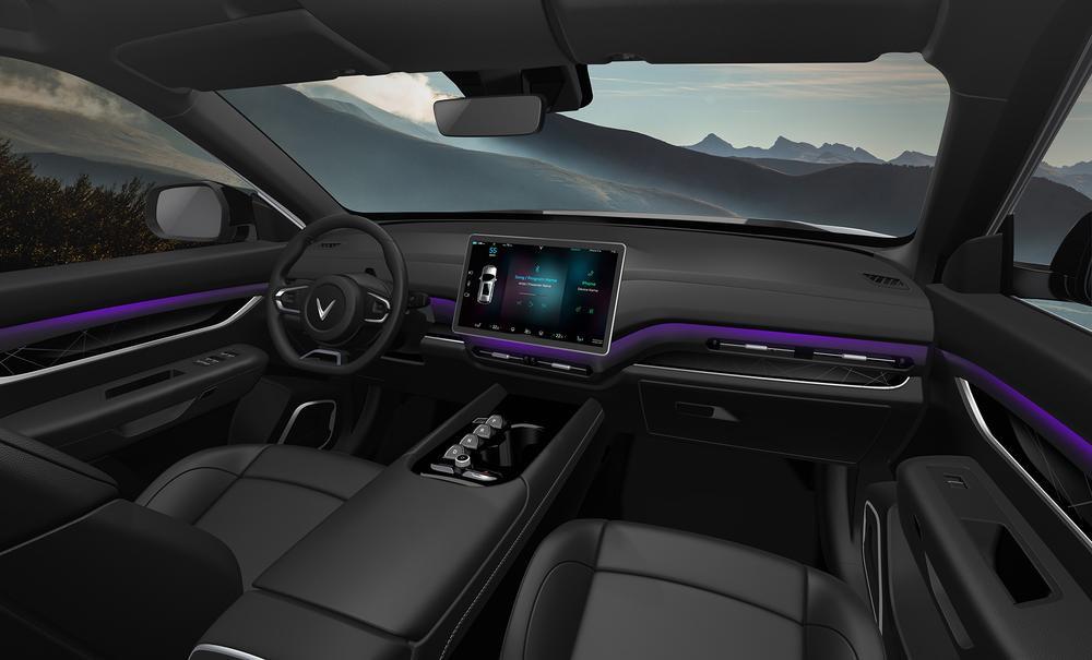 VinFast bất ngờ ra mắt 3 dòng ô tô điện tự lái: Trí tuệ nhân tạo, nhiều tính năng an toàn Ảnh 11