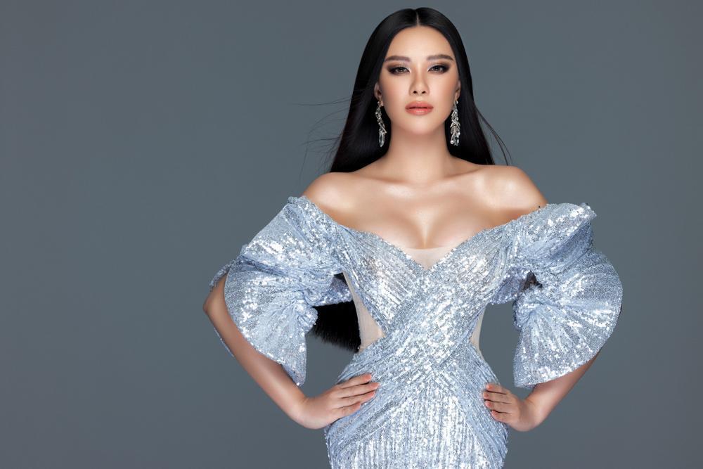 Á hậu Kim Duyên trở lại với suối tóc dài, khoe nhan sắc rạng rỡ trong bộ ảnh đón năm mới Ảnh 2
