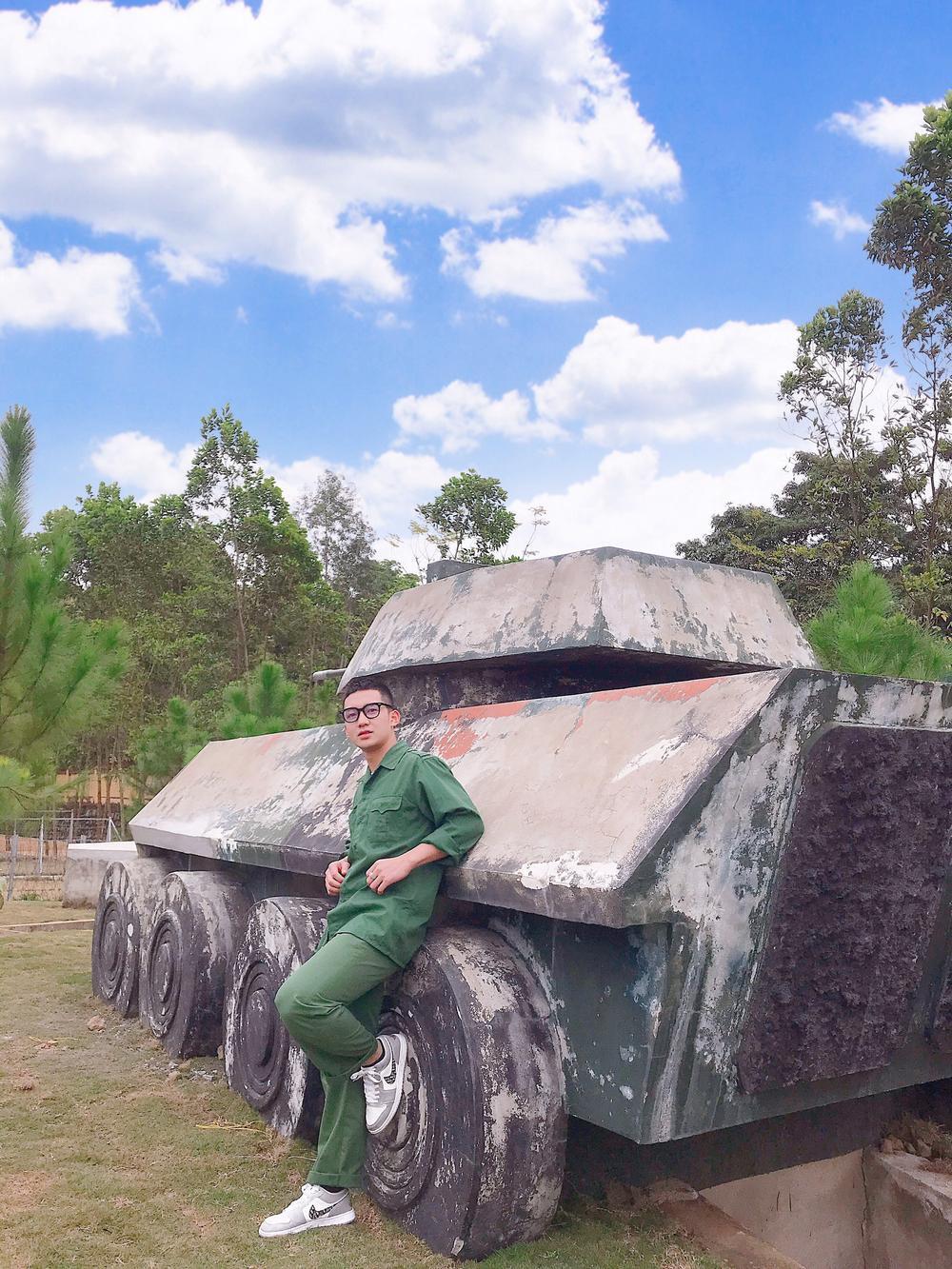 Chiêm ngưỡng dàn 'Trai xinh gái đẹp'- 'Đặc sản' mùa quân sự của Học viện Chính sách và Phát triển Ảnh 8