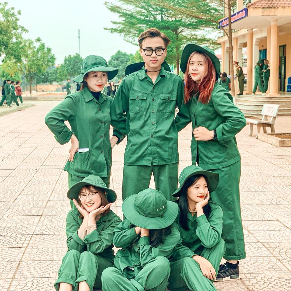 Chiêm ngưỡng dàn 'Trai xinh gái đẹp'- 'Đặc sản' mùa quân sự của Học viện Chính sách và Phát triển Ảnh 5