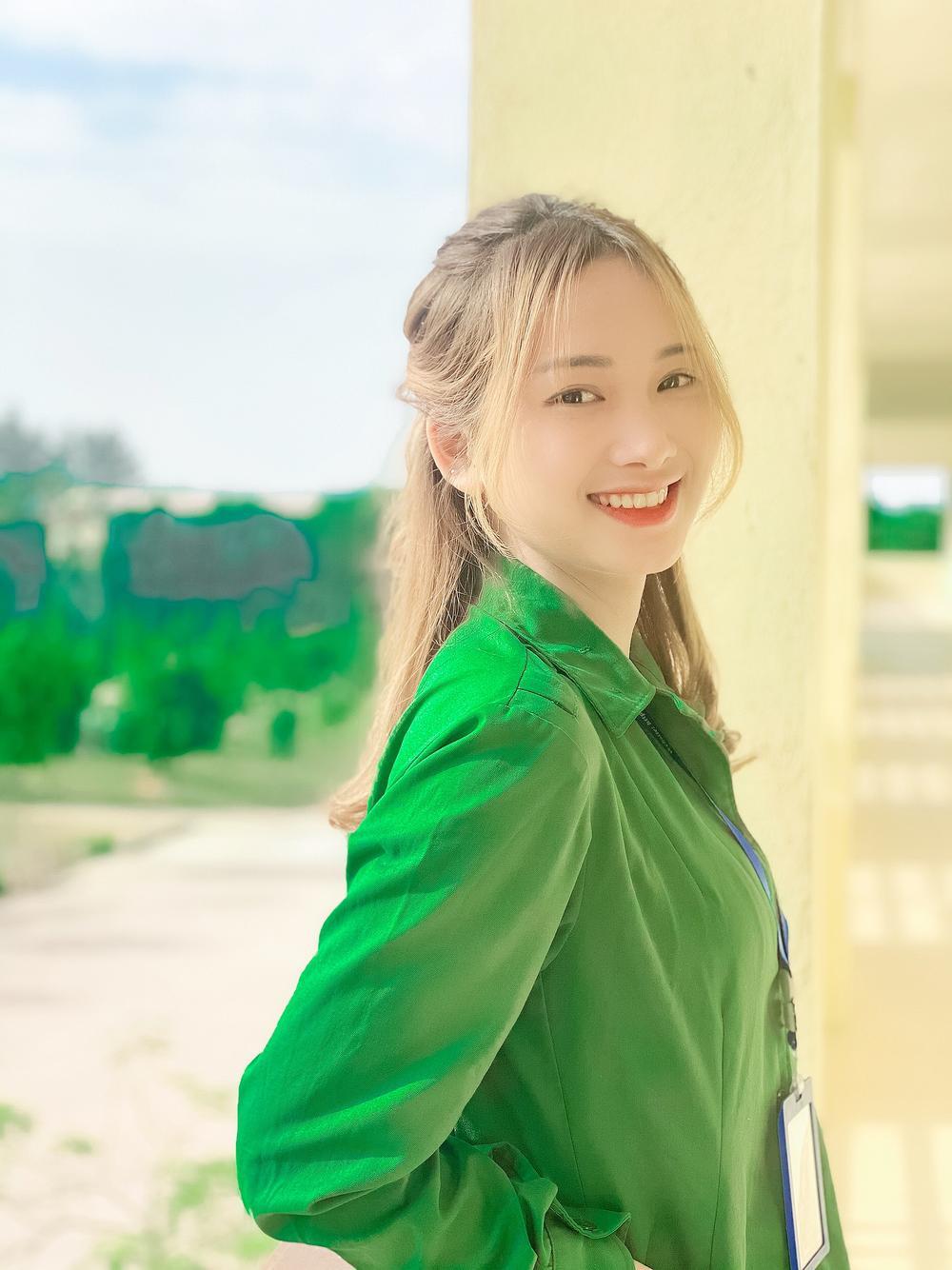 Chiêm ngưỡng dàn 'Trai xinh gái đẹp'- 'Đặc sản' mùa quân sự của Học viện Chính sách và Phát triển Ảnh 2