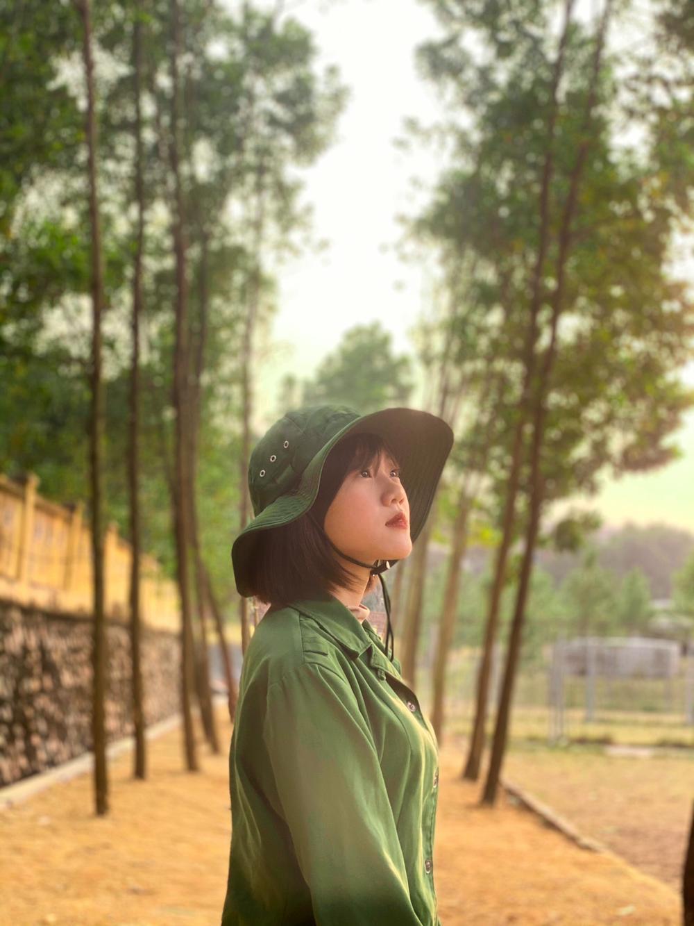 Chiêm ngưỡng dàn 'Trai xinh gái đẹp'- 'Đặc sản' mùa quân sự của Học viện Chính sách và Phát triển Ảnh 9