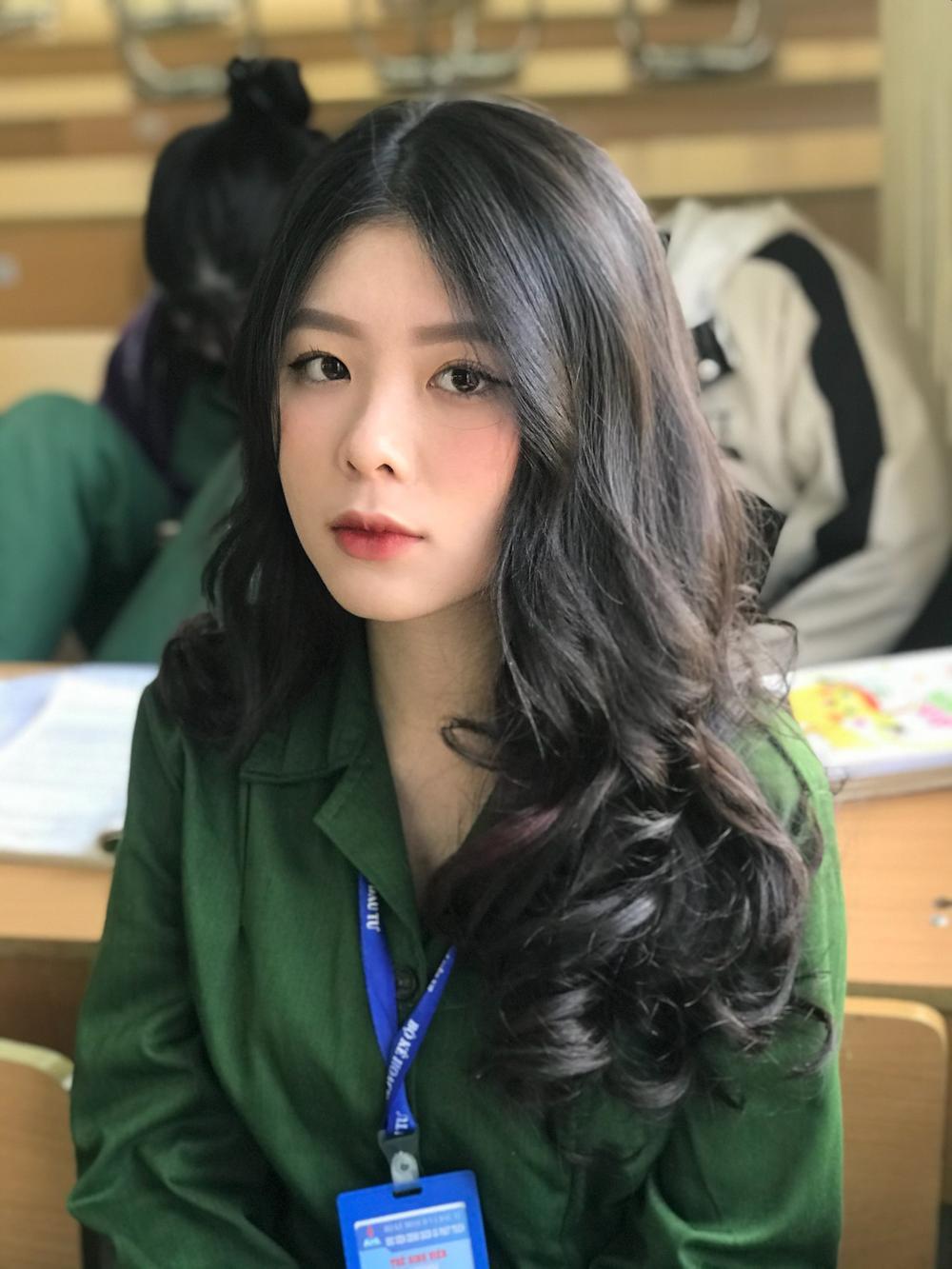 Chiêm ngưỡng dàn 'Trai xinh gái đẹp'- 'Đặc sản' mùa quân sự của Học viện Chính sách và Phát triển Ảnh 3