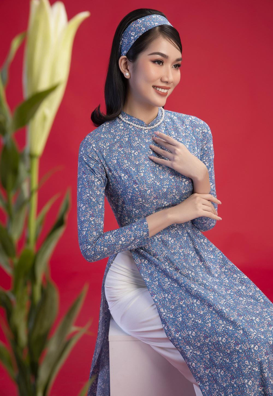 Top 3 Hoa hậu Việt Nam 2020 Đỗ Hà - Phương Anh - Ngọc Thảo chào xuân 'ngọt lịm' với áo dài cổ điển Ảnh 8
