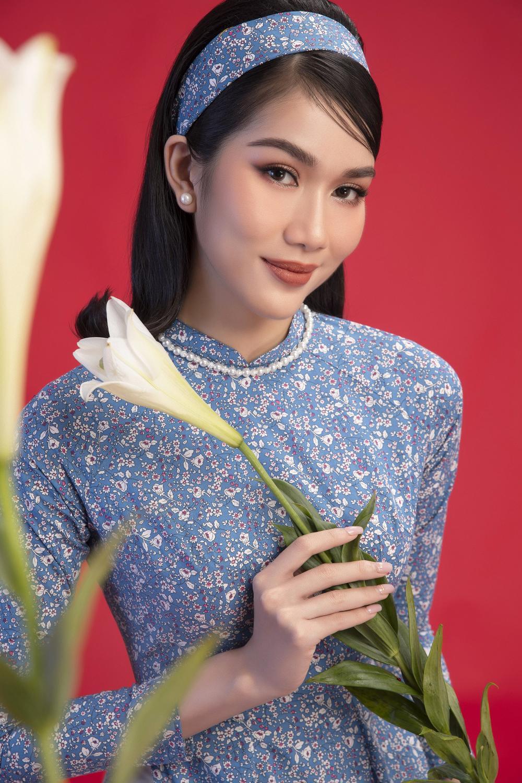 Top 3 Hoa hậu Việt Nam 2020 Đỗ Hà - Phương Anh - Ngọc Thảo chào xuân 'ngọt lịm' với áo dài cổ điển Ảnh 9