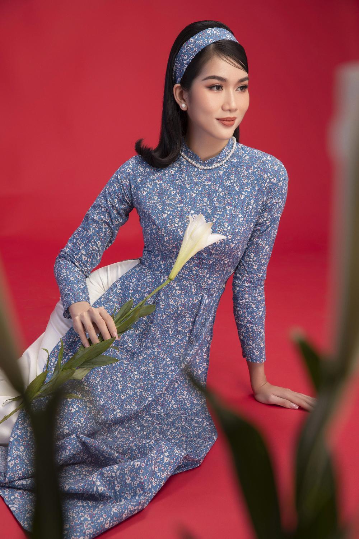 Top 3 Hoa hậu Việt Nam 2020 Đỗ Hà - Phương Anh - Ngọc Thảo chào xuân 'ngọt lịm' với áo dài cổ điển Ảnh 10