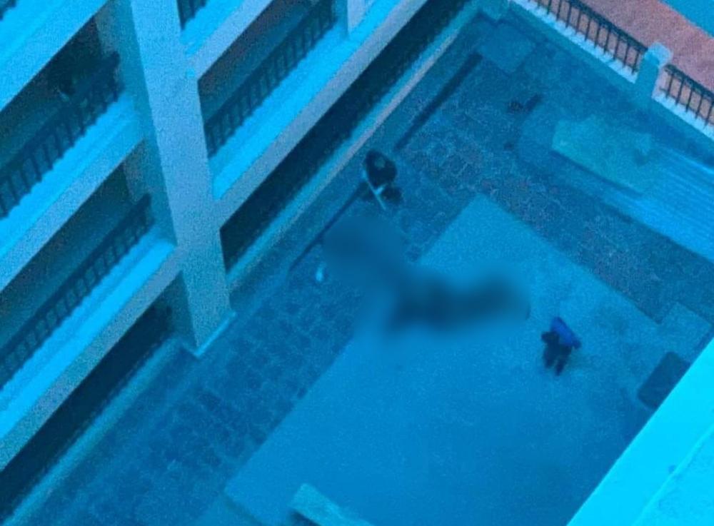 Nam thanh niên rơi ở trường Đại học Công nghiệp Hà Nội xuống đất tử vong Ảnh 1