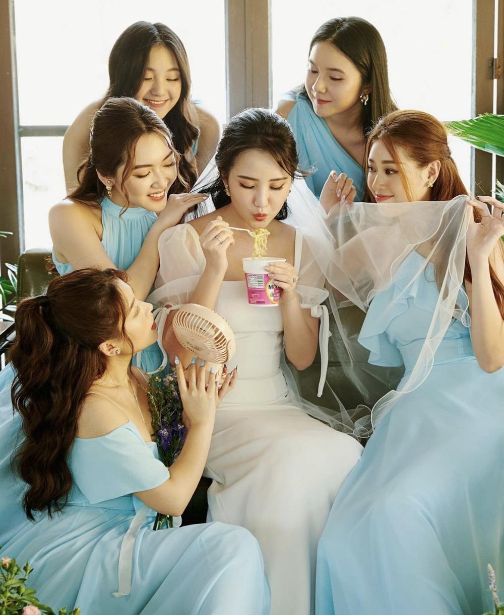 Primmy Trương tung ảnh cưới cùng dàn phụ dâu 'tiền tỉ' toàn hoa hậu, diễn viên, rich kid Ảnh 4
