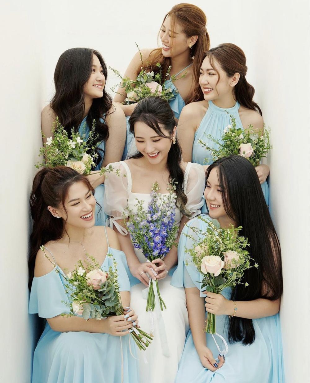 Primmy Trương tung ảnh cưới cùng dàn phụ dâu 'tiền tỉ' toàn hoa hậu, diễn viên, rich kid Ảnh 5