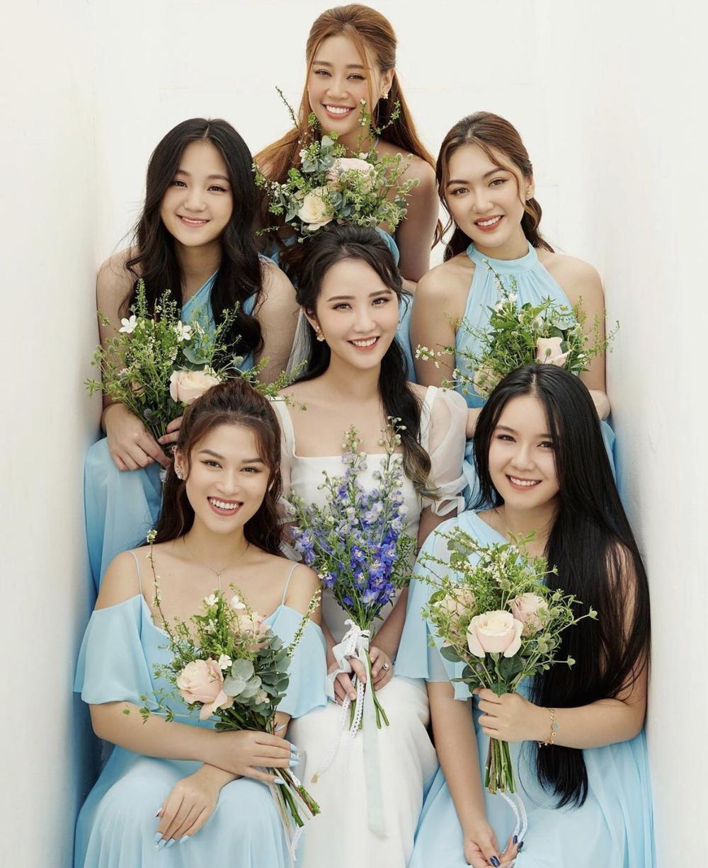 Primmy Trương tung ảnh cưới cùng dàn phụ dâu 'tiền tỉ' toàn hoa hậu, diễn viên, rich kid Ảnh 6