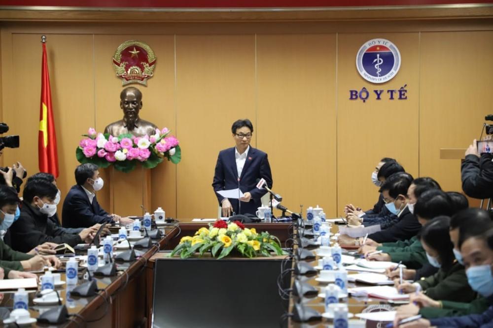 Phó Thủ tướng Vũ Đức Đam: Ổ dịch Chí Linh là chủng virus mới, có thể đã lây nhiễm 10 ngày với 4 vòng lây Ảnh 1