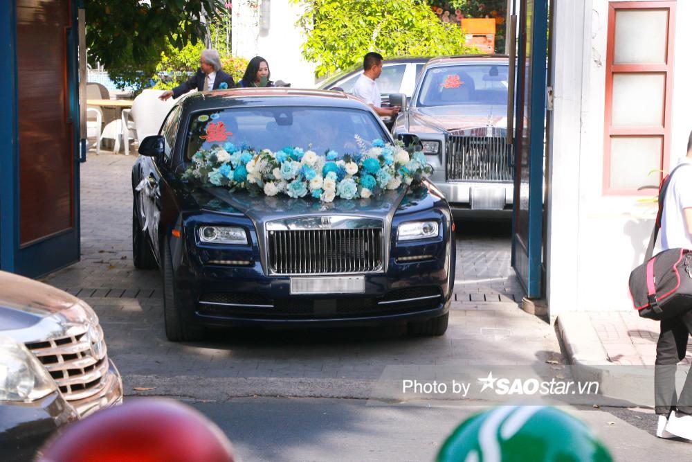Cận cảnh dàn xe trăm tỷ xuất hiện trong đám cưới Phan Thành - Primmy Trương Ảnh 5