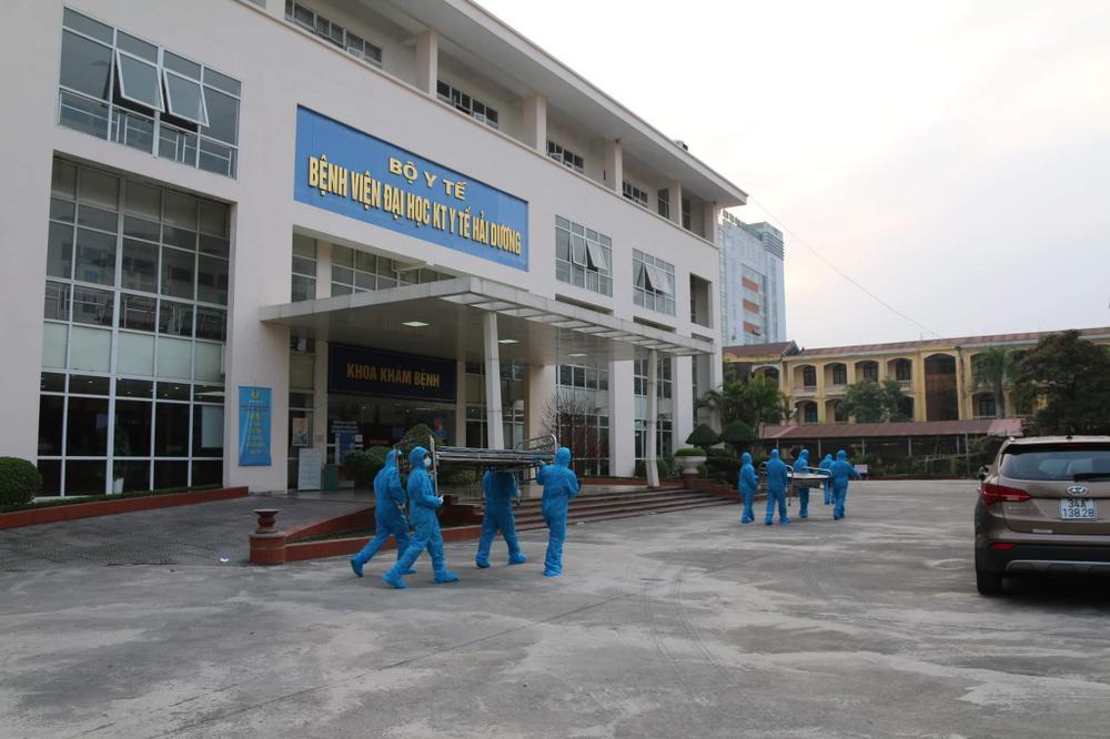 Bệnh viện dã chiến thứ 2 của Hải Dương thần tốc hoàn thành, đón bệnh nhân nhiễm COVID-19 đến điều trị Ảnh 1