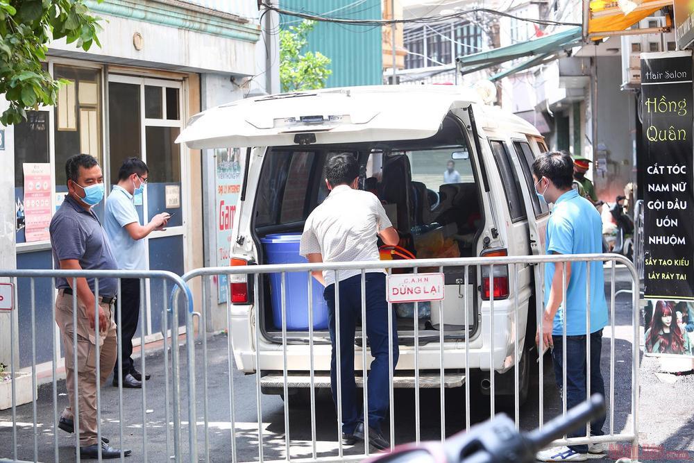 Thêm 1 bệnh nhân nhiễm COVID-19 ở Hà Nội có liên quan đến vùng dịch Hải Dương Ảnh 1
