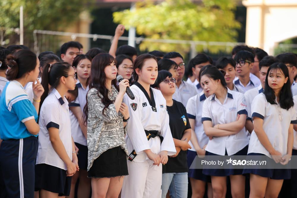 Nữ VĐV Taekwondo Châu Tuyết Vân: 'Chỉ mong em gái ngày hôm nay tốt hơn ngày hôm qua' Ảnh 4