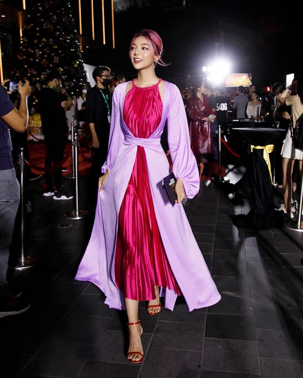 Không chỉ nhan sắc cực phẩm, Katleen Phan Võ còn sở hữu gu ăn diện thảm đỏ 'bén lẹm' Ảnh 16