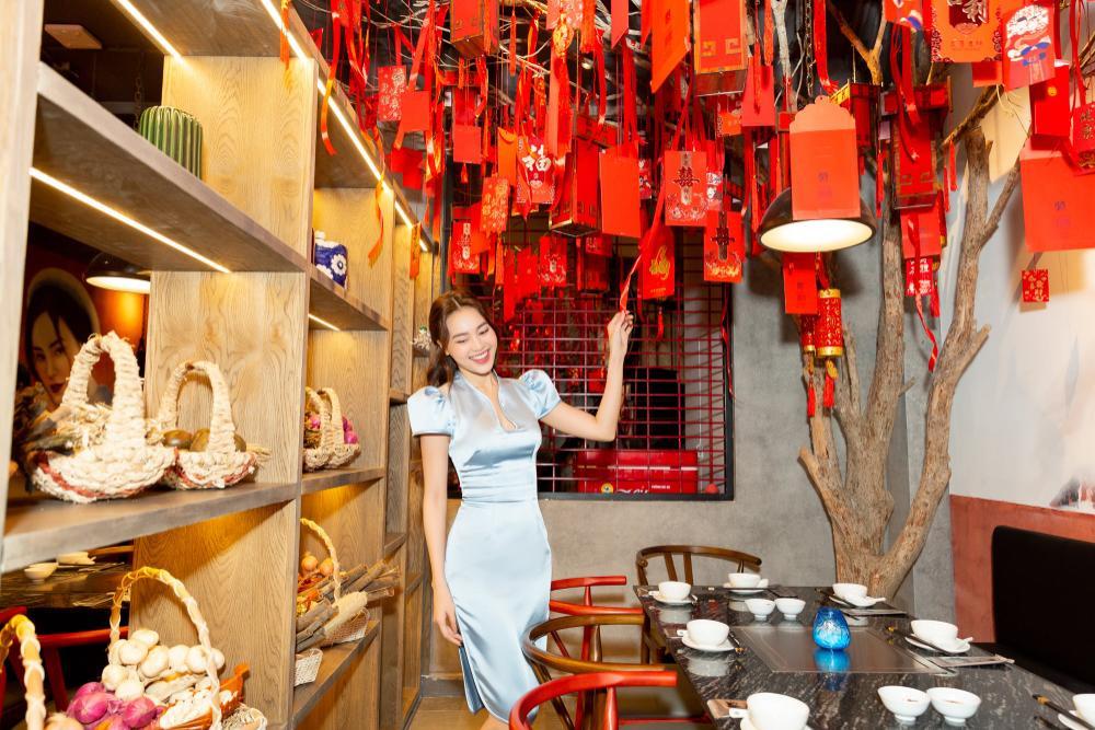Ninh Dương Lan Ngọc khoe dáng cực chuẩn trong bộ váy trắng cut-out táo bạo Ảnh 5