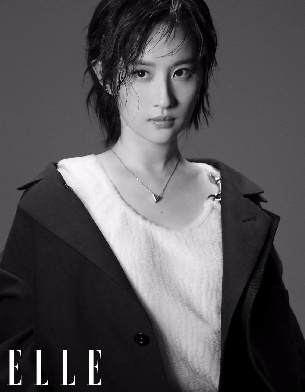 Lưu Diệc Phi lột xác hoàn toàn với visual như nữ idol Kpop trên bìa tạp chí Ảnh 6