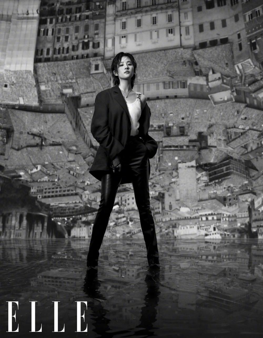 Lưu Diệc Phi lột xác hoàn toàn với visual như nữ idol Kpop trên bìa tạp chí Ảnh 7