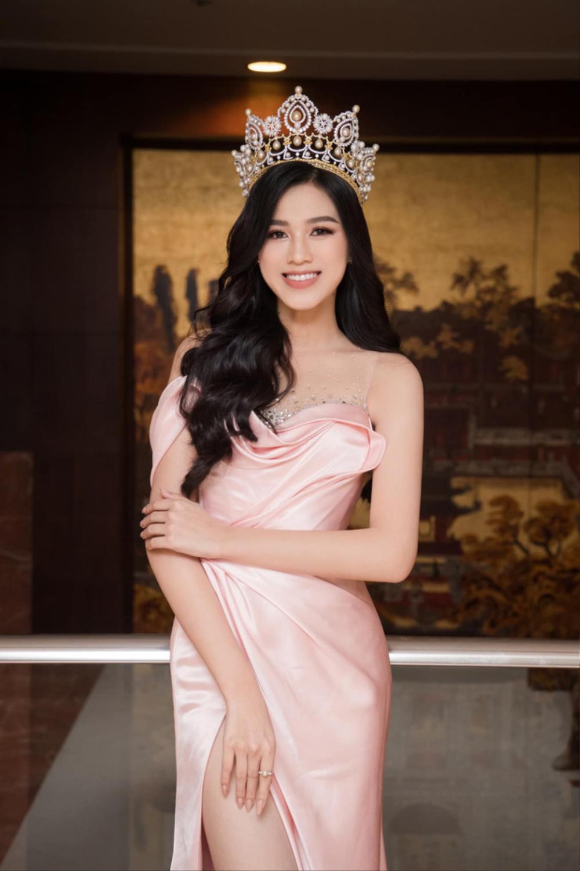 Đụng hàng Hoa hậu Đỗ Thị Hà, Ngọc Trinh vẫn ghi điểm khi đính hàng nghìn viên đá lên tóc Ảnh 1