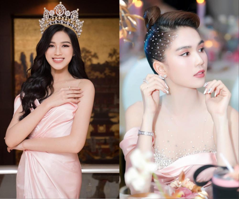 Đụng hàng Hoa hậu Đỗ Thị Hà, Ngọc Trinh vẫn ghi điểm khi đính hàng nghìn viên đá lên tóc Ảnh 6