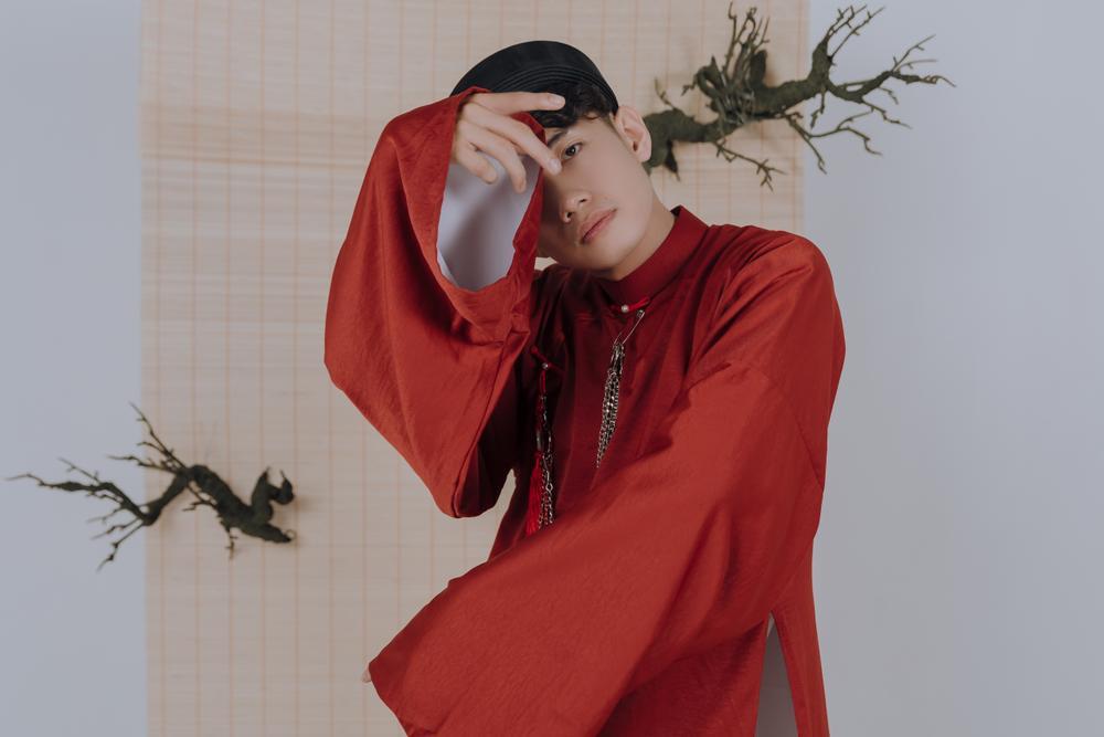 Quang Đăng diện áo dài rực rỡ đón Tết, lần đầu chia sẻ về chị gái ruột đang sống xa nhà Ảnh 7