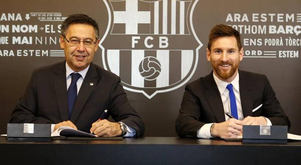 Cựu Chủ tịch Bartomeu nói gì sau khi hợp đồng của Messi bị rò rỉ? Ảnh 1