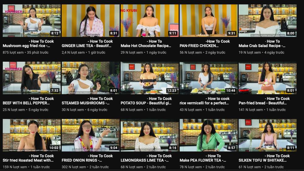 Quá khứ đầy tai tiếng của cô nàng YouTuber 'thả rông' vòng 1 dạy nấu ăn Ảnh 6