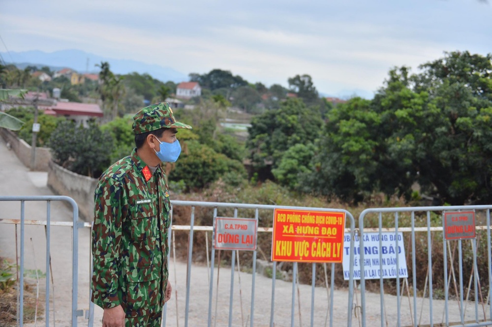 Sáng 4/2, thêm 37 ca nhiễm COVID-19 trong cộng đồng đều là công nhân làm việc tại Hải Dương Ảnh 2