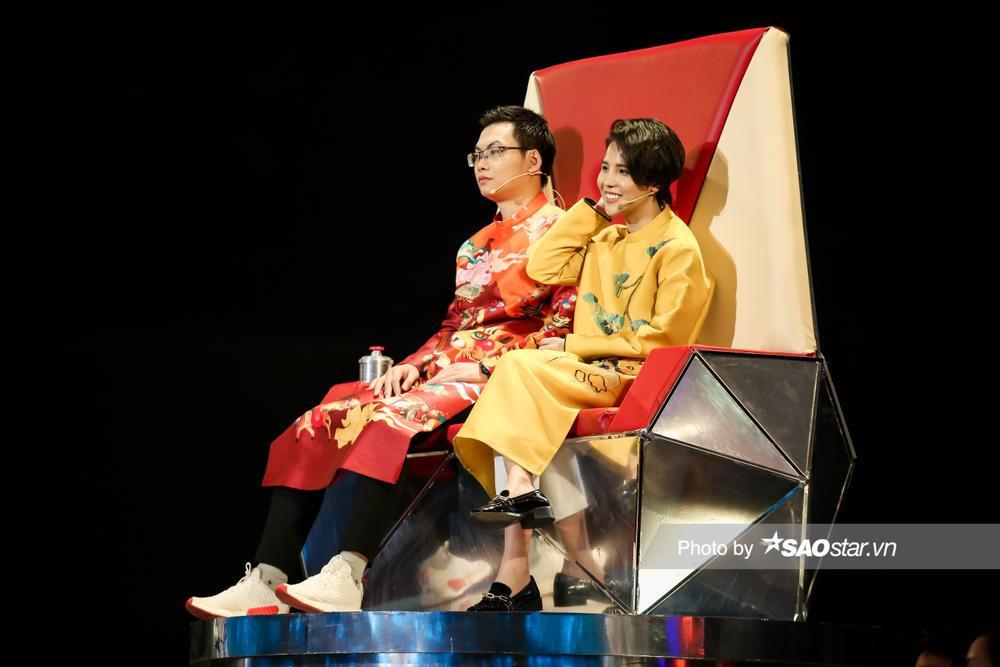 Hồ Hoài Anh - BigDaddy mâu thuẫn ý kiến với Lưu Hương Giang - Emily vì Diệu Linh - Bảo Hưng diễn quá đỉnh Ảnh 7