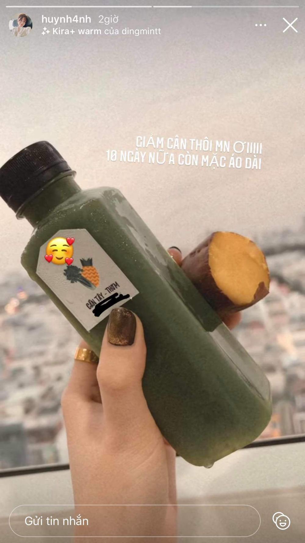 Huỳnh Anh- bạn gái cũ Quang Hải cấp tốc giảm cân bằng thực đơn không ai ngờ Ảnh 7