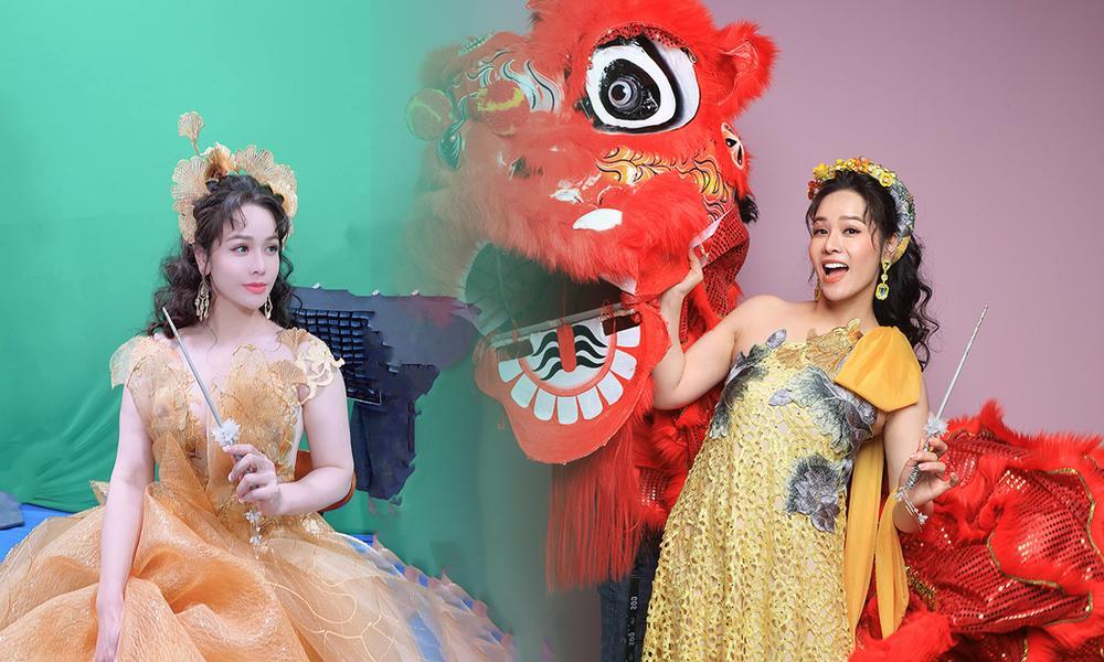 Nhật Kim Anh hóa thành nữ thần mùa Xuân xiêm y lộng lẫy trong MV mới Ảnh 1