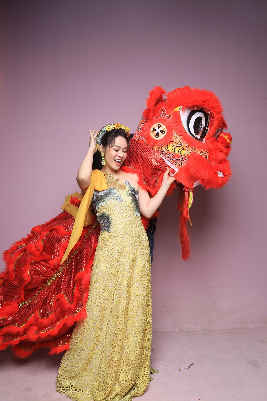 Nhật Kim Anh hóa thành nữ thần mùa Xuân xiêm y lộng lẫy trong MV mới Ảnh 12