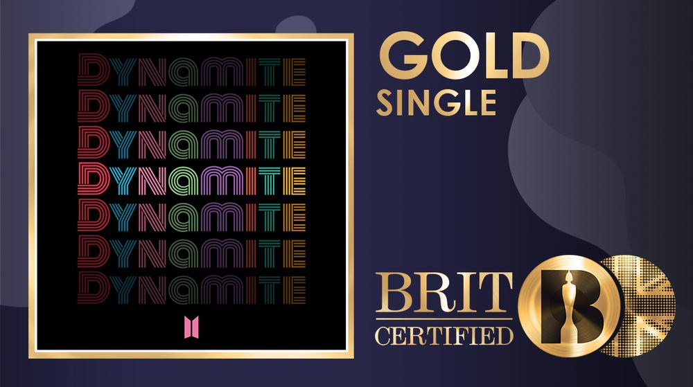 'Dynamite' đạt chứng nhận Gold tại Anh, BTS lại bỏ túi thêm kỉ lục 'vô tiền khoáng hậu' Ảnh 2