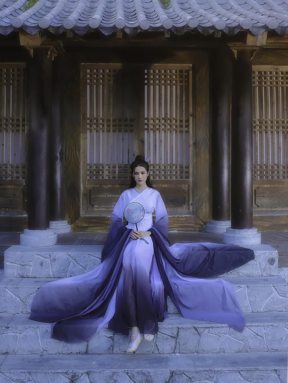Phan Thị Mơ hóa tiên nữ, hững hờ thềm ngực quyến rũ mê hồn Ảnh 3