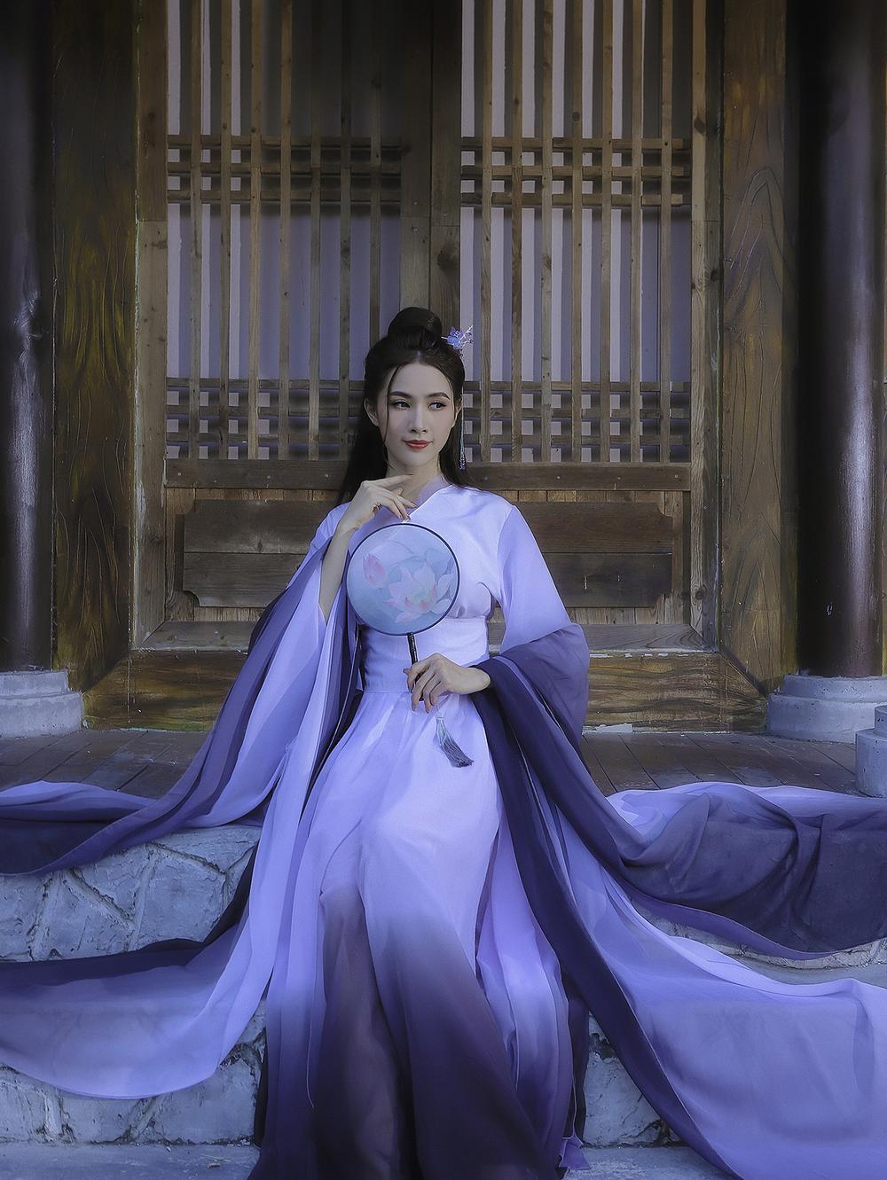 Phan Thị Mơ hóa tiên nữ, hững hờ thềm ngực quyến rũ mê hồn Ảnh 4