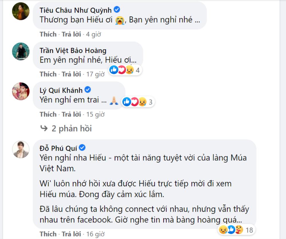 Sao Việt tiếc thương trước sự ra đi đột ngột của nghệ sĩ múa Mai Trung Hiếu ở tuổi 29 Ảnh 5