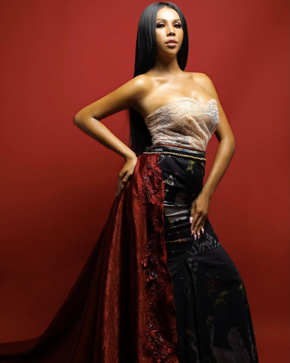 12 thí sinh đầu tiên dự thi Miss International Queen 2021: Trân Đài 'kèn cựa' mỹ nhân Thái Lan Ảnh 32