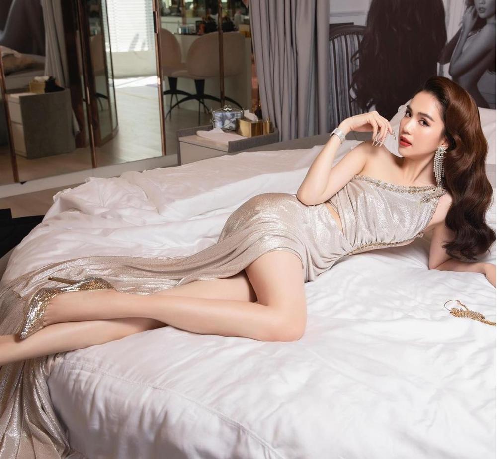 Ngọc Trinh 'đẹp điên đảo' trong bộ ảnh thời trang, tuyên bố slogan sống của bản thân Ảnh 5
