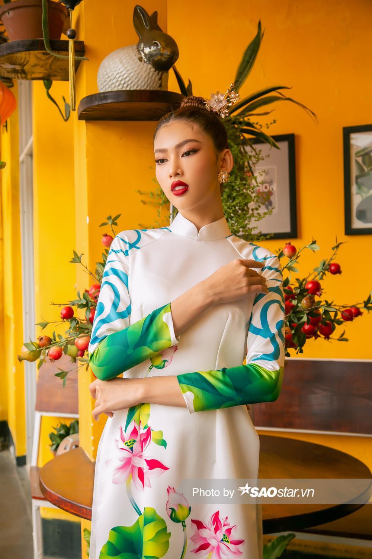 Á hậu Ngọc Thảo: Quyết tâm tập ứng xử, 'xiết body' để vượt qua dấu mốc 3 năm liền Top 10 Miss Grand Ảnh 10