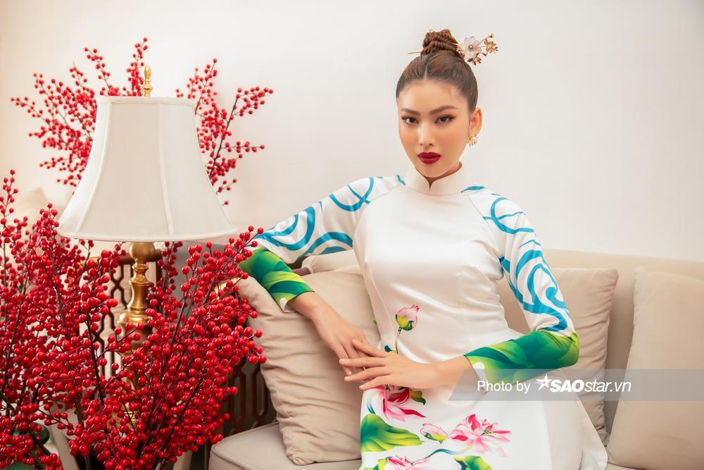 Á hậu Ngọc Thảo: Quyết tâm tập ứng xử, 'xiết body' để vượt qua dấu mốc 3 năm liền Top 10 Miss Grand Ảnh 8