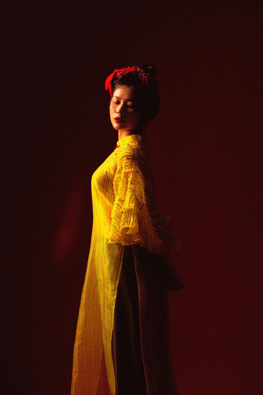Oanh Kiều biến hóa phong cách trong bộ ảnh Tết, chia sẻ về vai diễn trong 'Trạng Tí' Ảnh 5