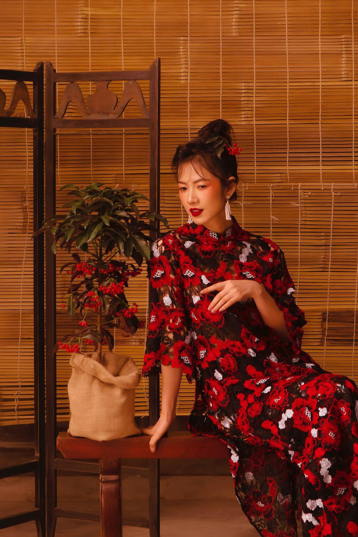 Oanh Kiều biến hóa phong cách trong bộ ảnh Tết, chia sẻ về vai diễn trong 'Trạng Tí' Ảnh 7