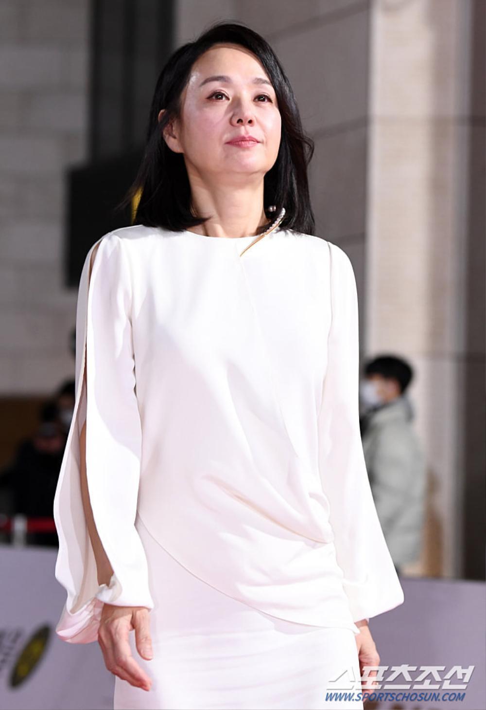 Thảm đỏ 'Rồng xanh 2020': Shin Hye Sun 'cân sắc' Shin Min Ah, Jung Woo Sung - Lee Byung Hun điển trai! Ảnh 12