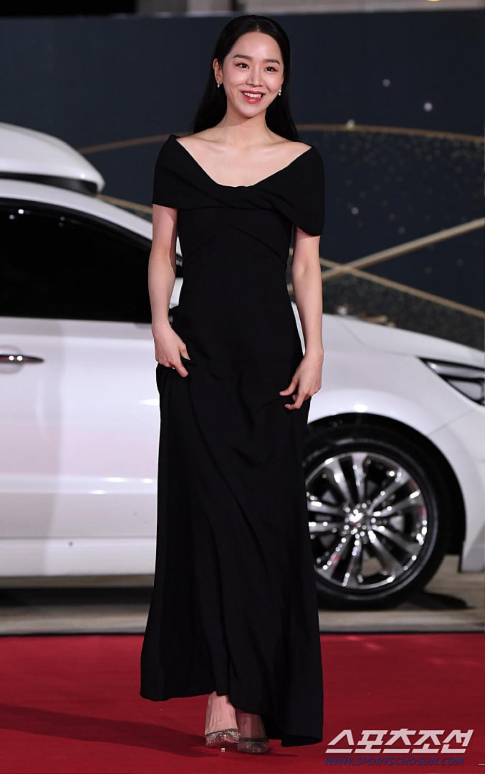 Thảm đỏ 'Rồng xanh 2020': Shin Hye Sun 'cân sắc' Shin Min Ah, Jung Woo Sung - Lee Byung Hun điển trai! Ảnh 15