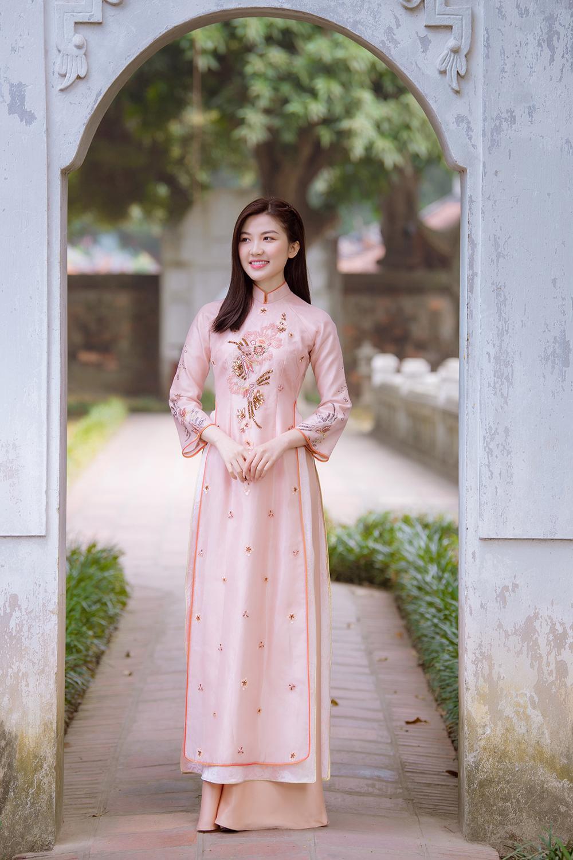 Trước thềm Tết Tân Sửu 2021, diễn viên Lương Thanh tung bộ hình áo dài đậm chất xuân Ảnh 17