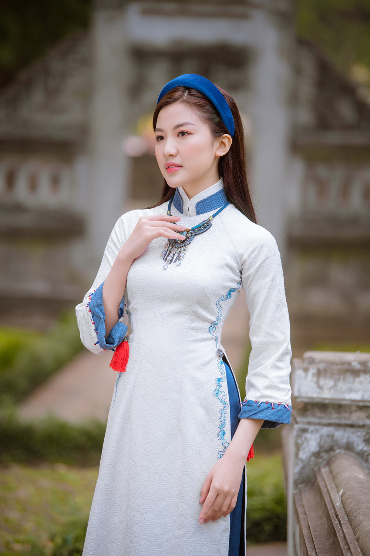 Trước thềm Tết Tân Sửu 2021, diễn viên Lương Thanh tung bộ hình áo dài đậm chất xuân Ảnh 10